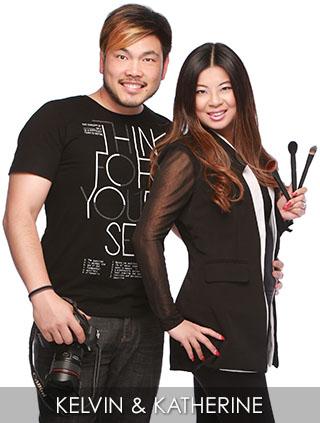 Kelvin Chong and Katherine